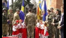 Embedded thumbnail for На Полтавщині встановили монумент загиблим бійцям (ВІДЕО)
