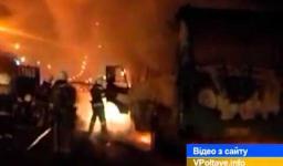 Embedded thumbnail for У Полтаві на зупинці громадського транспорту загорівся пасажирський автобус (ВІДЕО)