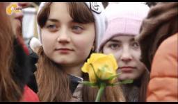 Embedded thumbnail for У Полтаві в день Гідності та Свободи відслужили панахиду (ВІДЕО)